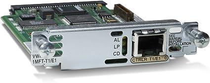 Cisco VWIC2-1MFT-T1//E1 1-Port T1//E1 Multiflex Trunk Voice//WAN Interface Card