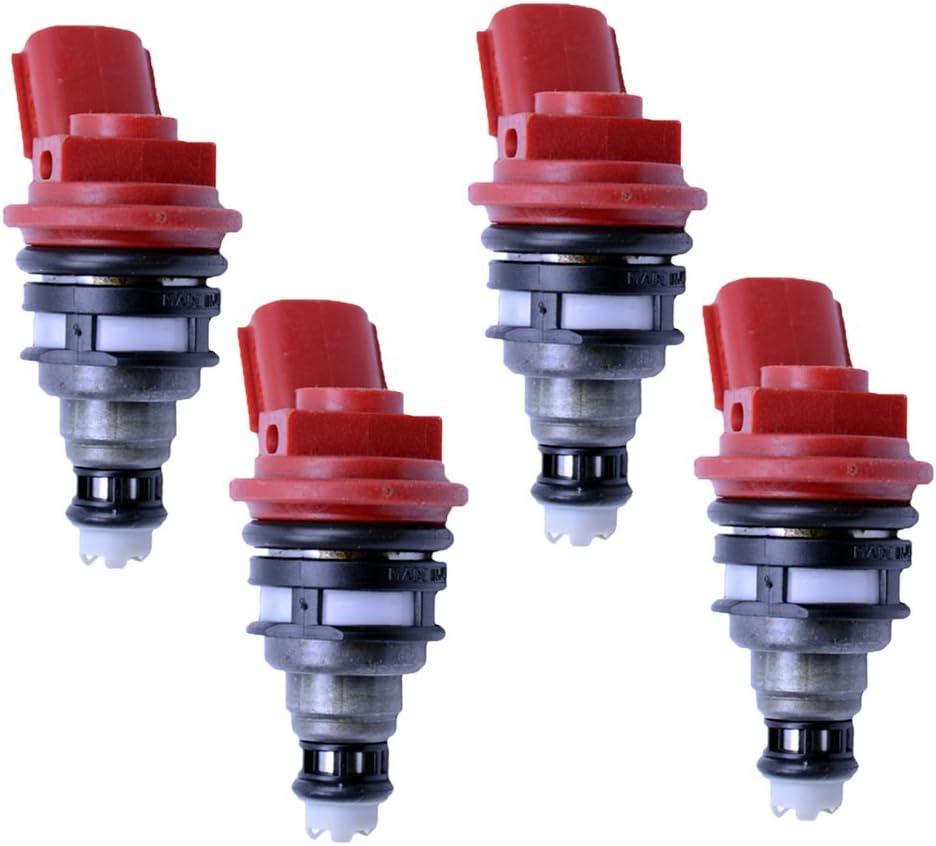 4 x 550cc Side Feed Fuel Injectors NISSAN Silvia 180sx SR20 S13 S14 S15 200sx