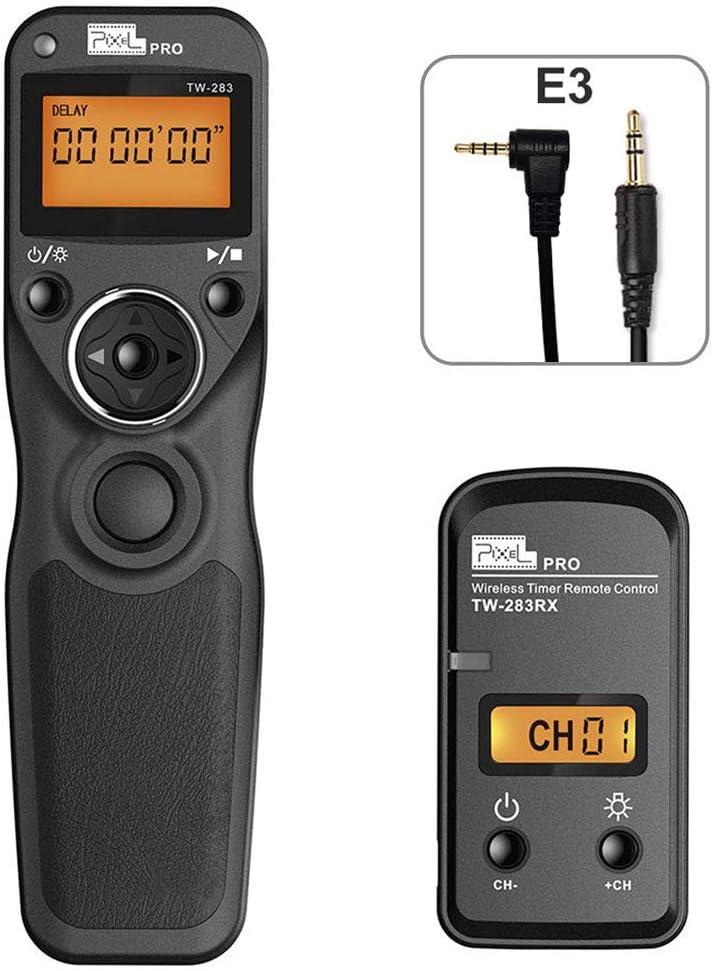 PIXEL TW-283/E3 Mando a Distancia Disparador inalámbrico Cable ...