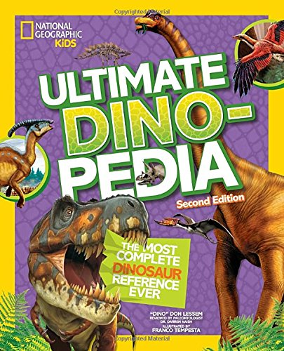 National Geographic Kids Ultimate Dinopedia  Second Edition