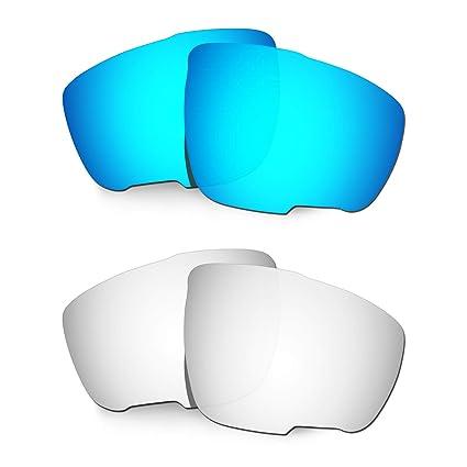 HKUCO Lentes de Repuesto para Rudy Sintryx Azul/Titanio ...