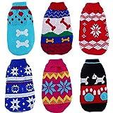 Zrong Dog Soft Cute Cat Puppy Pet Knitted Jumper Sweater Coat Outwear...
