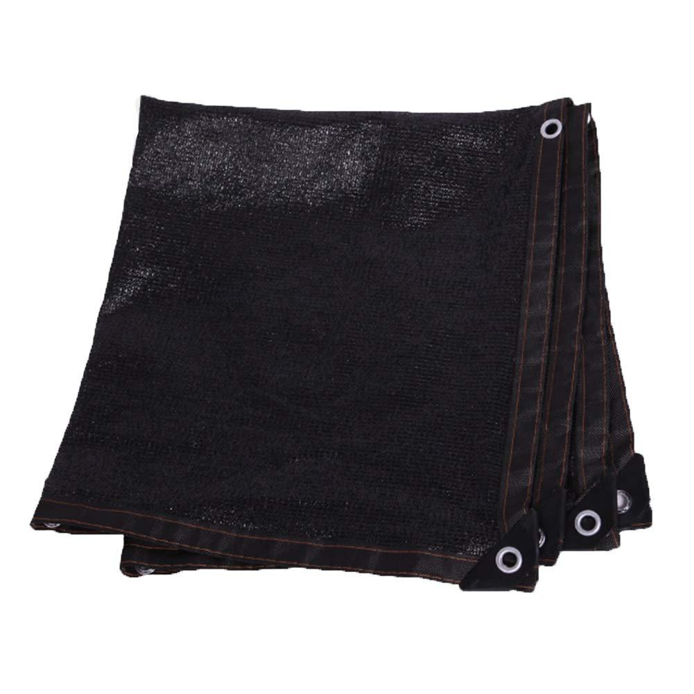 Noir 2X2m GGYMEI Filet De Camouflage Durable Anti-Âge Cryptage Résistance à Haute Température élargisseHommest Toiture Extérieure En Polyéthylène, 23 Tailles (Couleur   Noir, taille   4X9m)