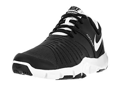 Nike Men\u0027s Flex Show TR 5 Black/White Pure Platinum Training Shoe 7.5 Men US