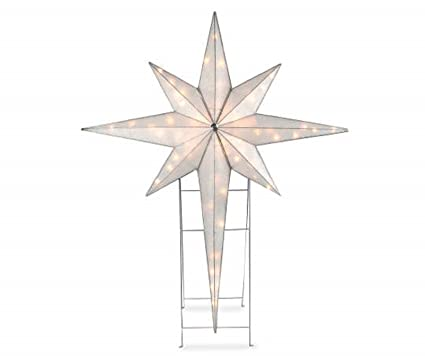 large 46 pre lit star of bethlehem indoor outdoor holiday yard art nativity - Large Outdoor Christmas Star