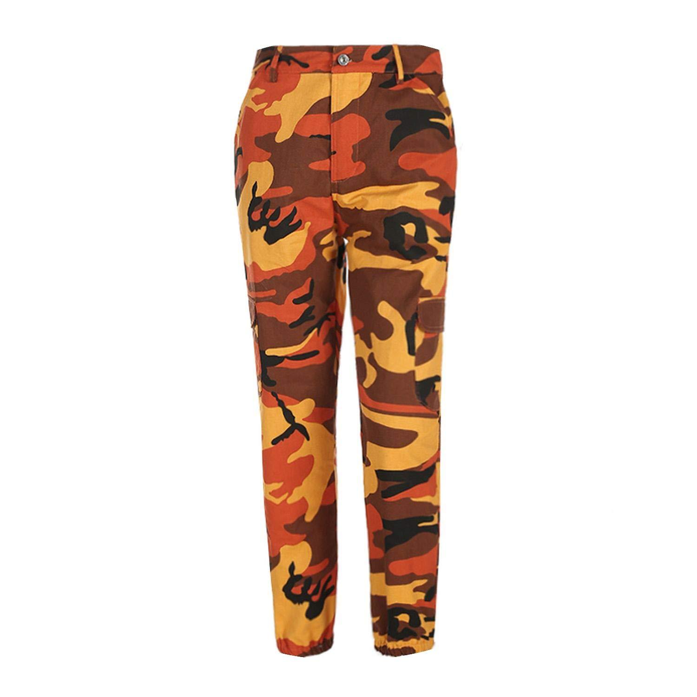 Women Camouflage Pants Casual Pink Camo Sweatpant Gray Orange Camo Pants  High Waist Trousers at Amazon Women s Clothing store  fe5132aa33