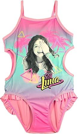 5b7b6013aa70 Soy Luna Soy Luna Disney Bademode Schwimmen Kostüm (12 Jahre, Rosa ...