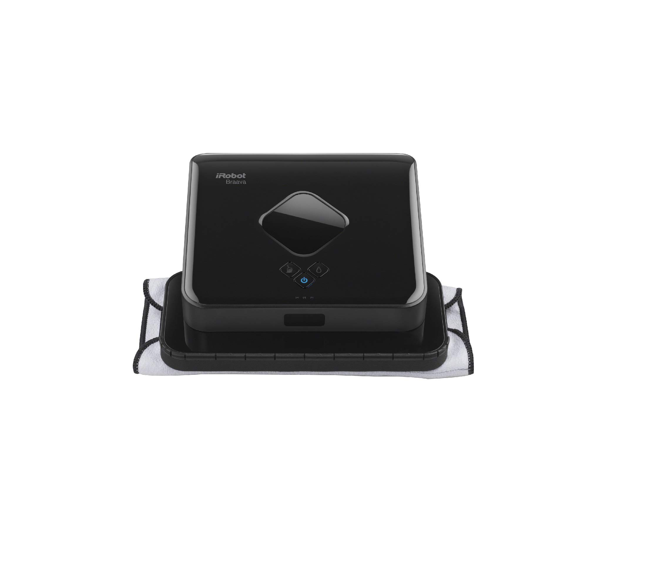 iRobot Braava 380t Advanced Robot Mop- Wet Mopping and Dry Sweeping cleaning modes, large spaces by iRobot