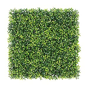 ULAND Artificial Hedges Panels, Outdoor Greenery Ivy Privacy Fence Screening, Home Garden Wedding Decoration 19
