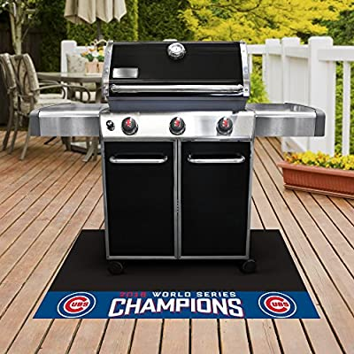 "Chicago Cubs 2016 World Series Champions Grill Mat 26""x42"""