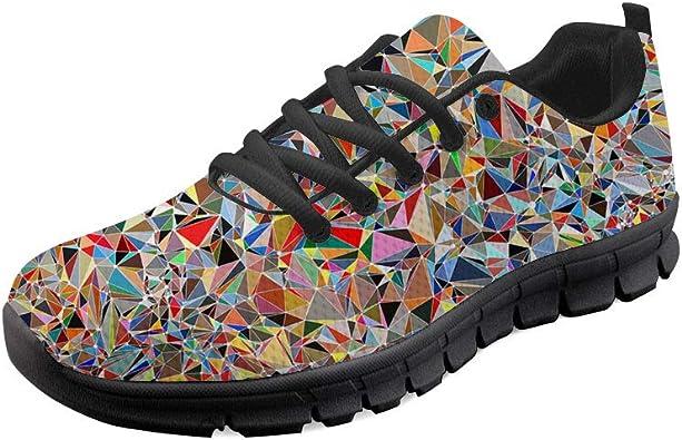 HUGS IDEA - Zapatillas de Running para Mujer, Color, Talla 43: Amazon.es: Zapatos y complementos