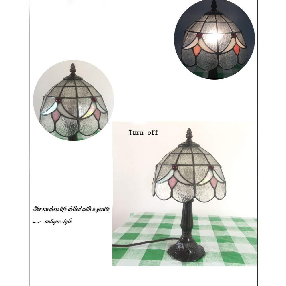 YXLONG Mediterrane Stil Stil Stil Kinderzimmer Harz Tischlampe Glasmalerei Schlafzimmer Nachttischlampe,Beige2036cmwithoutlightsource B07J3LX1V9   Diversified In Packaging  273e56