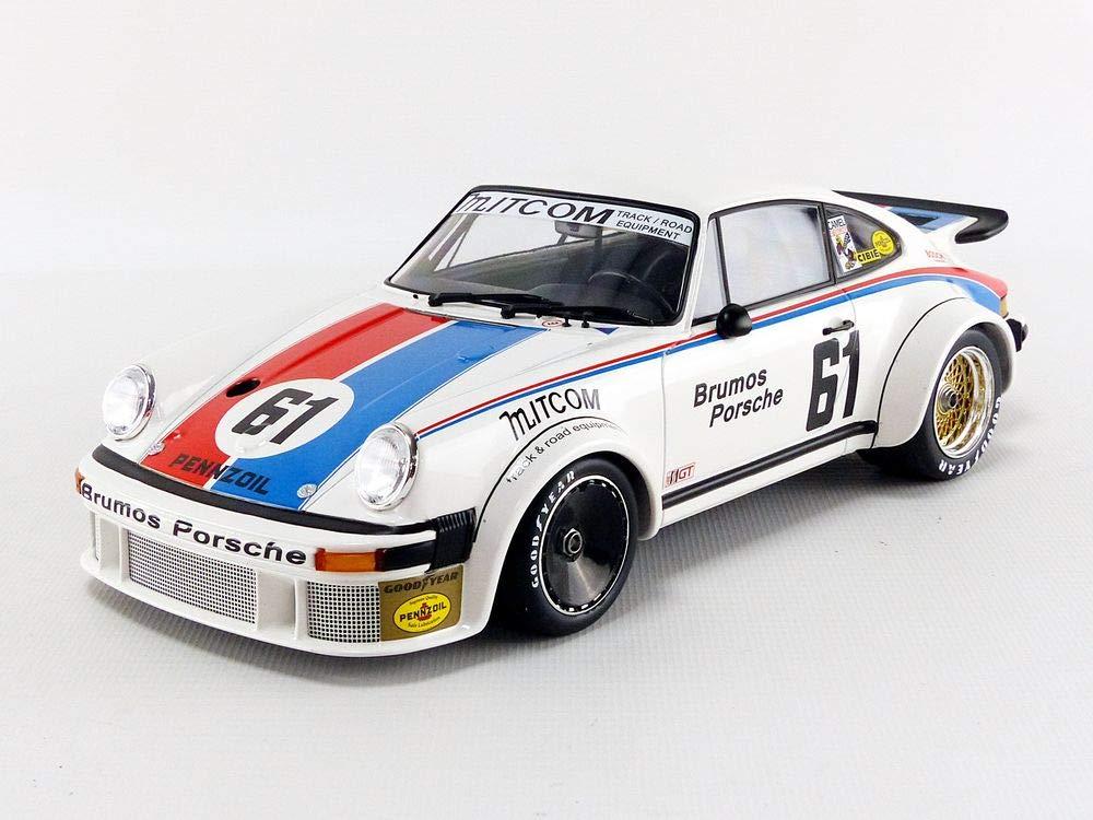Minichamps 155776461 1:18 Porsche 934 - Brumos Racing - Gregg/Busby - 24H Le Mans 1977, Multi