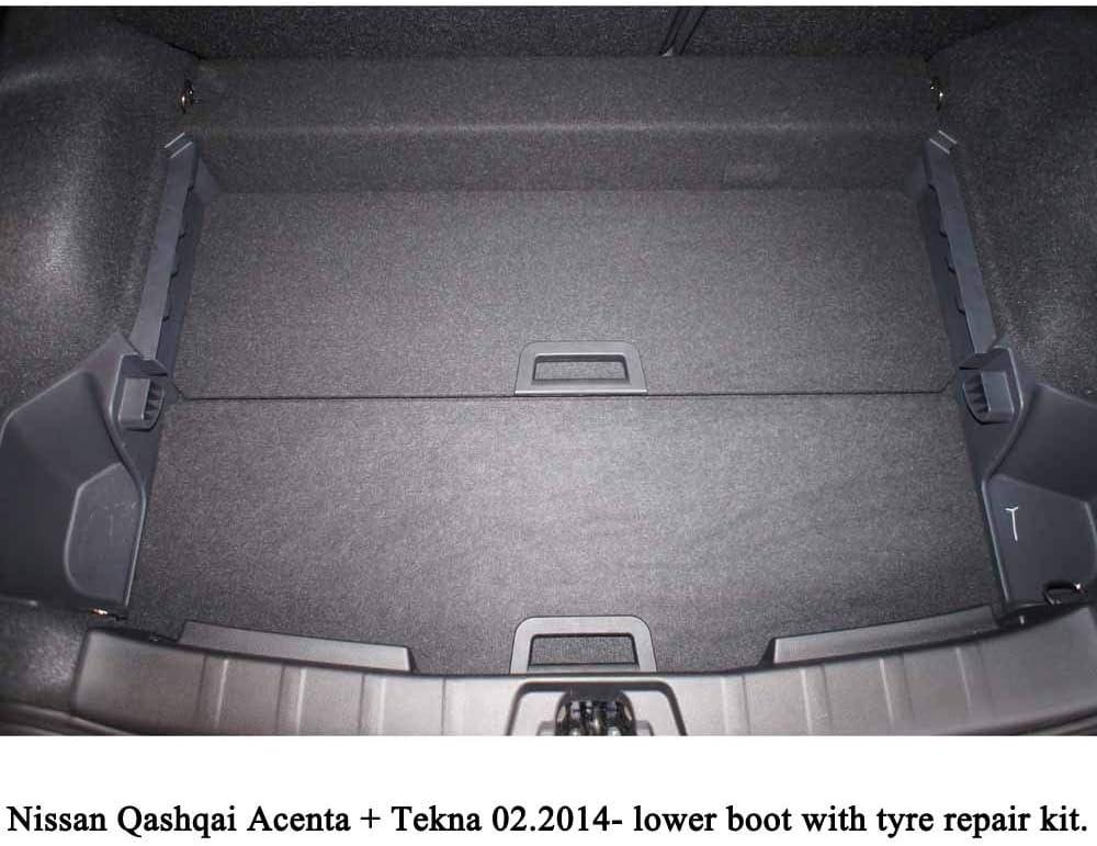 Adatto per NISSAN QASHQAI ANNO II j11 bagagliaio vano di carico Vasca Vaschetta a partire dal 2013