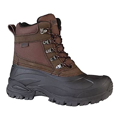 RP121 Mens Brown Waterproof Thinsulate Insulated Winter Boots