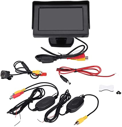 "Kit de visión trasera HD cámara de visión nocturna de aparcamiento marcha atrás 170 ° /& 7/"" LCD Monitor"