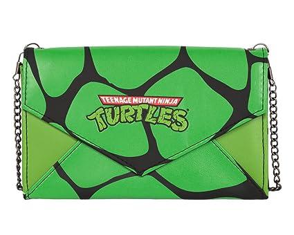 Teenage Mutant Ninja Turtles Envelope Wallet w/ Chain