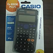 Casio FX-85DE Plus Wissenschaftlicher Taschenrechner ...