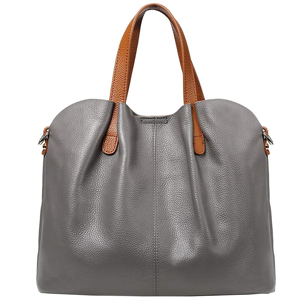 BACKPACKGY Frauen Rucksack, Mode hit Farbe große kapazität Damen Handtasche 33  15  25 cm