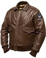 top gun mavericks blouson d 39 aviateur en cuir de taureau. Black Bedroom Furniture Sets. Home Design Ideas