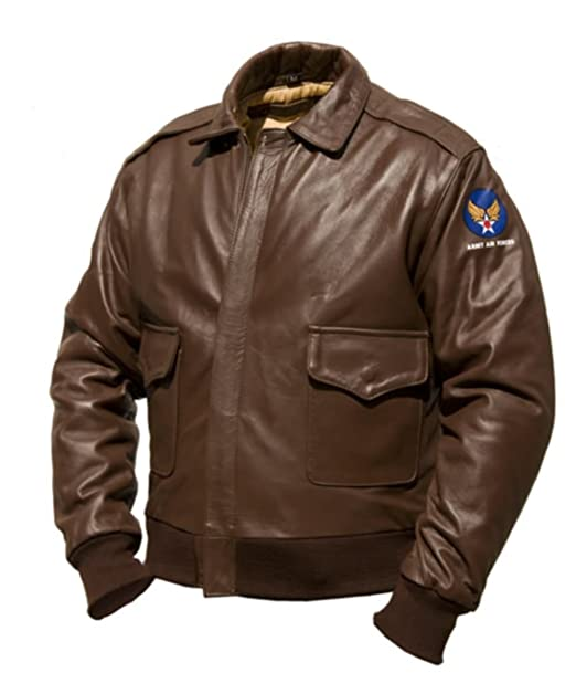Noble House A-2 Intermediate Flying Jacket at Amazon Mens ...