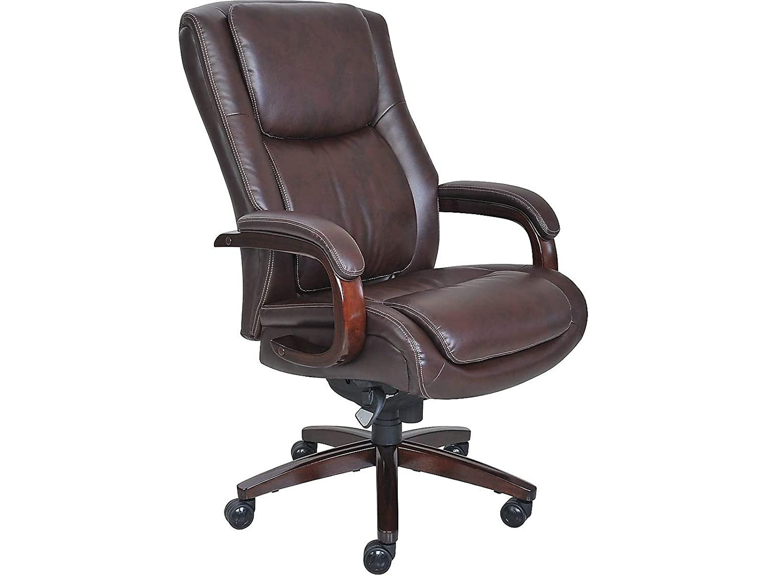 La-z-boy Winston Leather Executive Office Chair - Big And Tall Office Desk Chairs