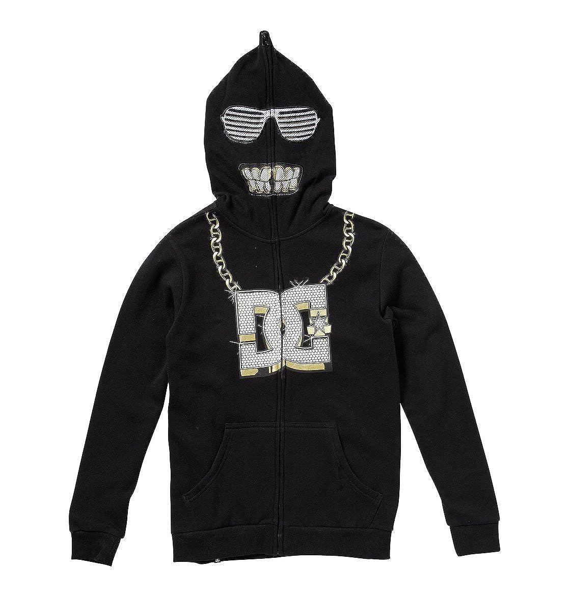 DC Toddler Kids Cray DCKD Fleece Hoody Zip Up Sweatshirts 2Tmall Black