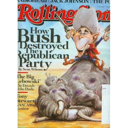 Rolling Stone September 4 2008 How Bush Destroyed the Republican Party (Issue 1060) ()