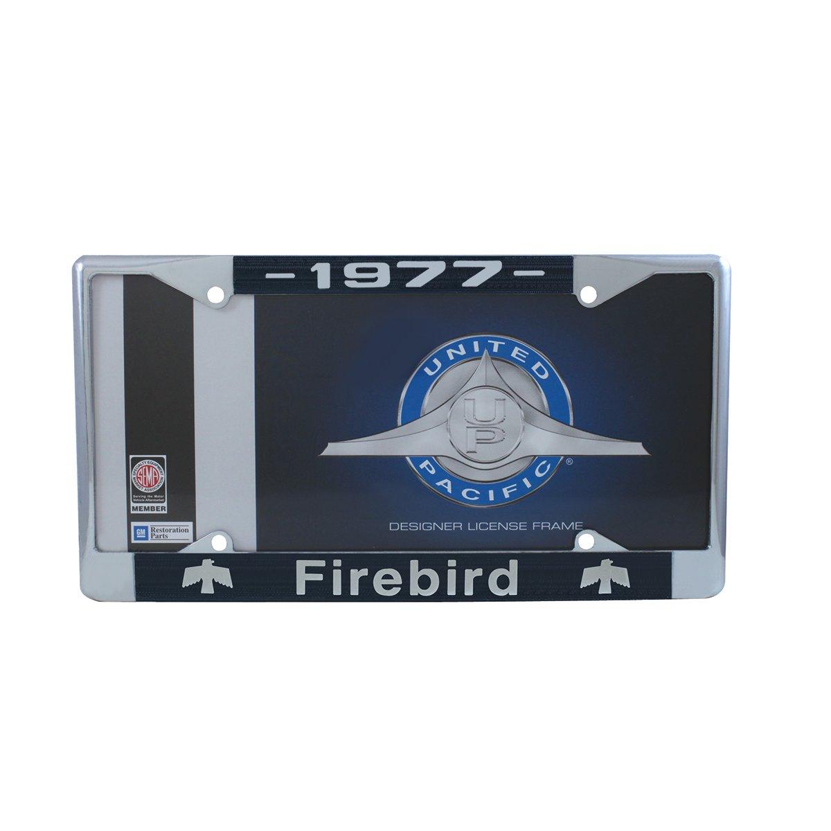 United Pacific C5039-77 1977 Firebird Chrome License Plate Frame