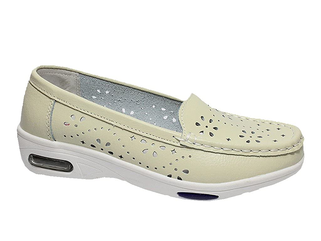 Damen Ballerinas Slipper Halbschuhe Sneakers Komfort Leder Mokassins Pumps 36-41