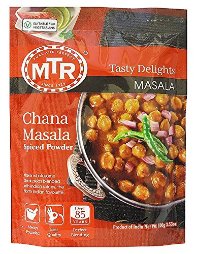 MTR Chana Masala Powder Tasty Delights, 100G (Best Chana Masala Powder)
