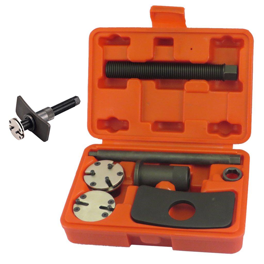 FIRSTINFO Universal Auto Adjustable Disc Brake Caliper Piston Wind Back Repair Tool Kit