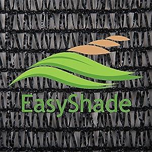 Amazon Com Easyshade Black 40 Shade Cloth Uv Resistant