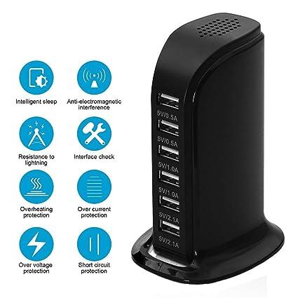 Amazon.com: USB cargador de computadora estación de carga ...