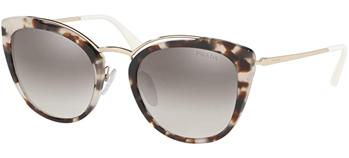 9ab848efe Image Unavailable. Image not available for. Color: Prada PRADA AVANT-GARDE  EVOLUTION PR 20US BEIGE HAVANA/GREY SHADED 54/22