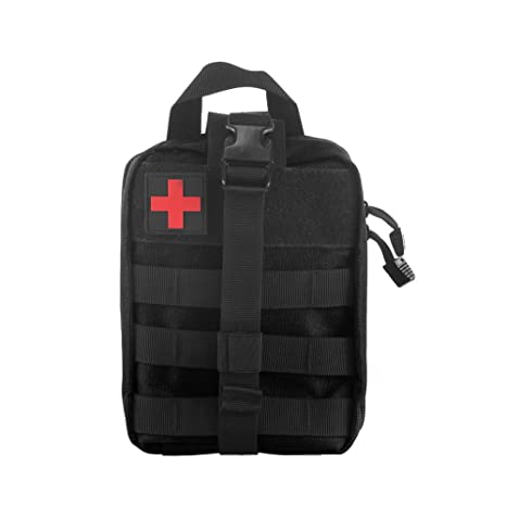 Winbang Bolsa médica táctica, botiquín de primeros auxilios Bolsa táctica Molle Rip-Away EMT Bolsa IFAK Medical para situaciones de emergencia táctica