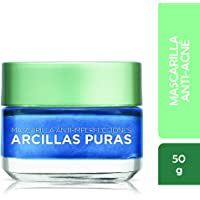 Mascarilla facial anti-imperfecciones Arcillas Puras Loreal Paris, 50g