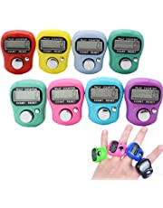 Stonges Resettable 5DIGIT LCD Electronic finger Counter Hand Tally (colore misto)
