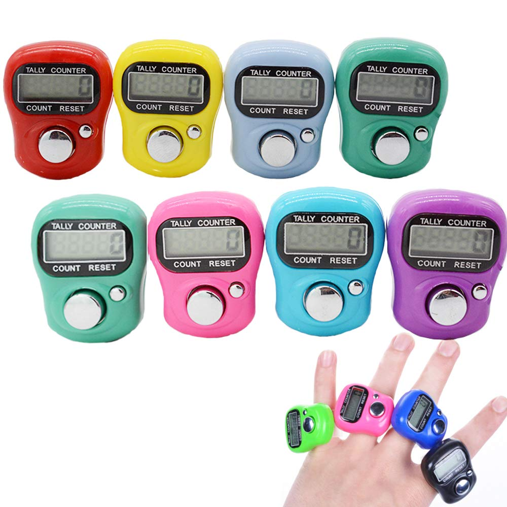 Stonges Resettable 5 Digit LCD Electronic Finger Counter Hand Tally ( Mixed color )
