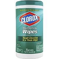 Toallas Húmedas Desinfectantes Clorox Disinfecting Wipes Aroma Fresco 75 Unidades