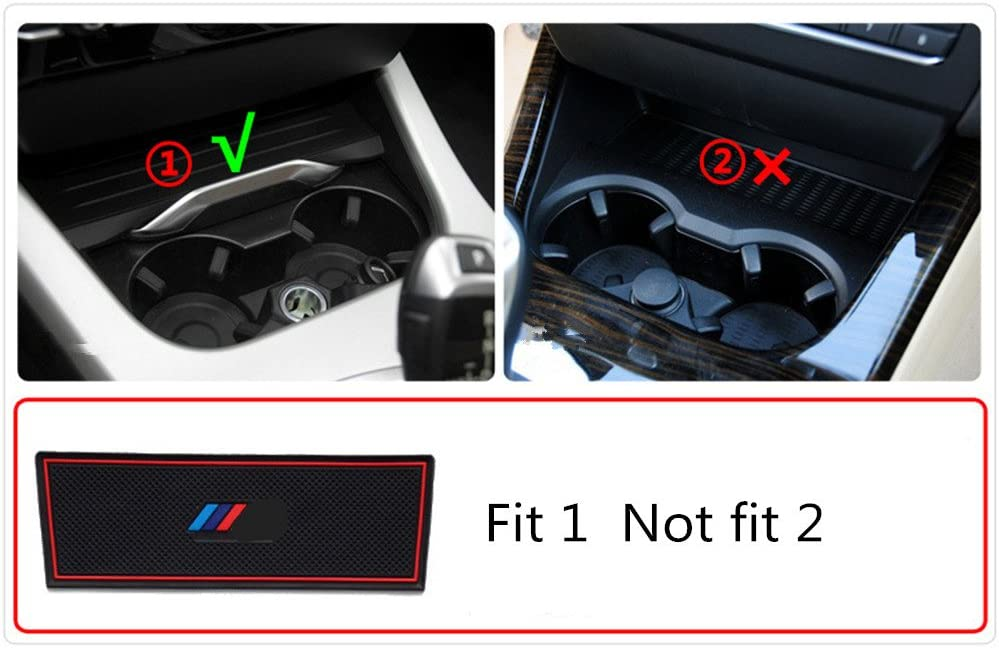 21pcs Custom Fit Cup Holder and Door Liner Accessories fits for BMW X3 2011 To 2014
