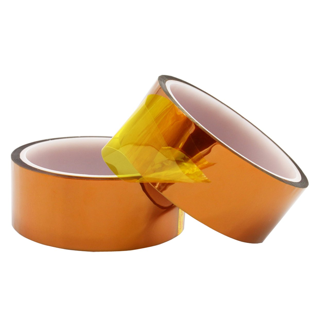 Kapton High Temperature Heat Resistant Tape Polyimide Film Adhesive Tape for Electronic Industry PCB polypropylene and Mobile phone battery, Kaifa (1.2 in X 108 ft)
