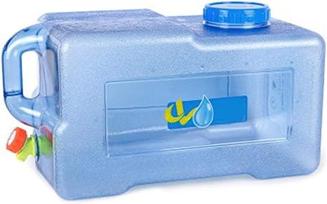 Bidón de agua de 25 L para camping, con grifo, accesorios ...