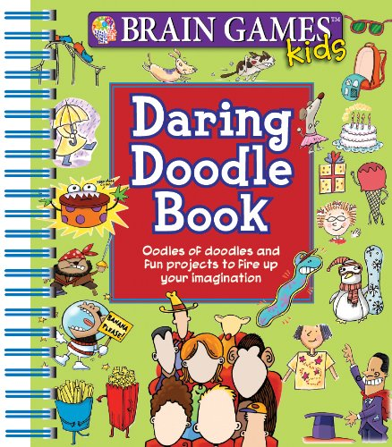 Daring Doodle Book Publications International product image