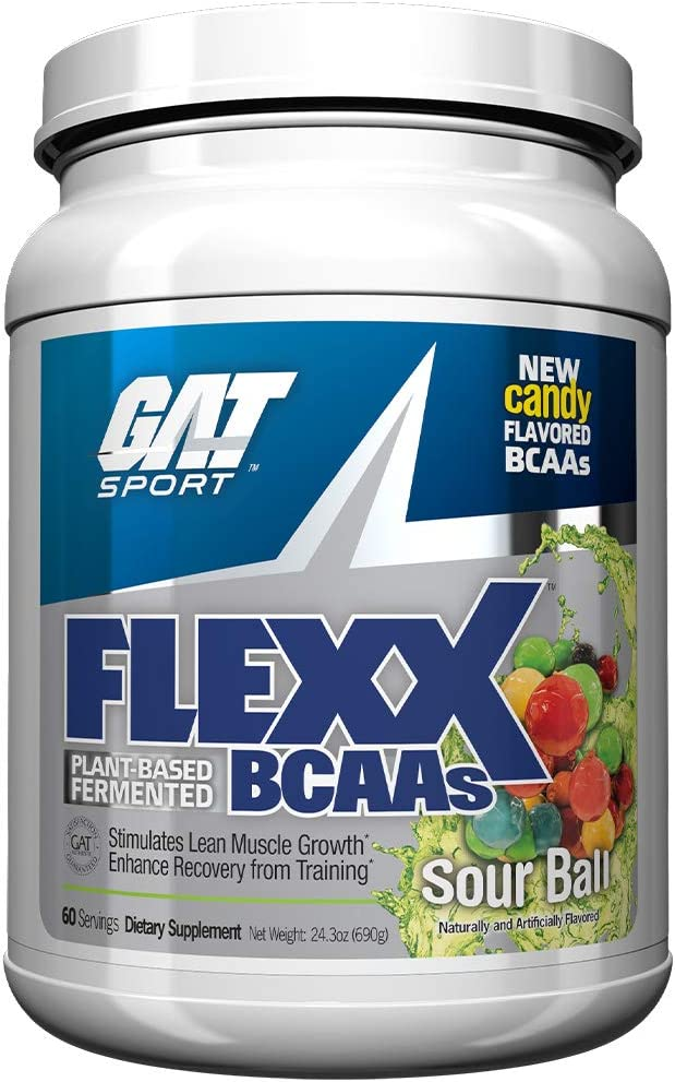 GAT Flexx Bcaa Plant-Based Fermented Sour Balls Energy and Recovery, 690 Gram