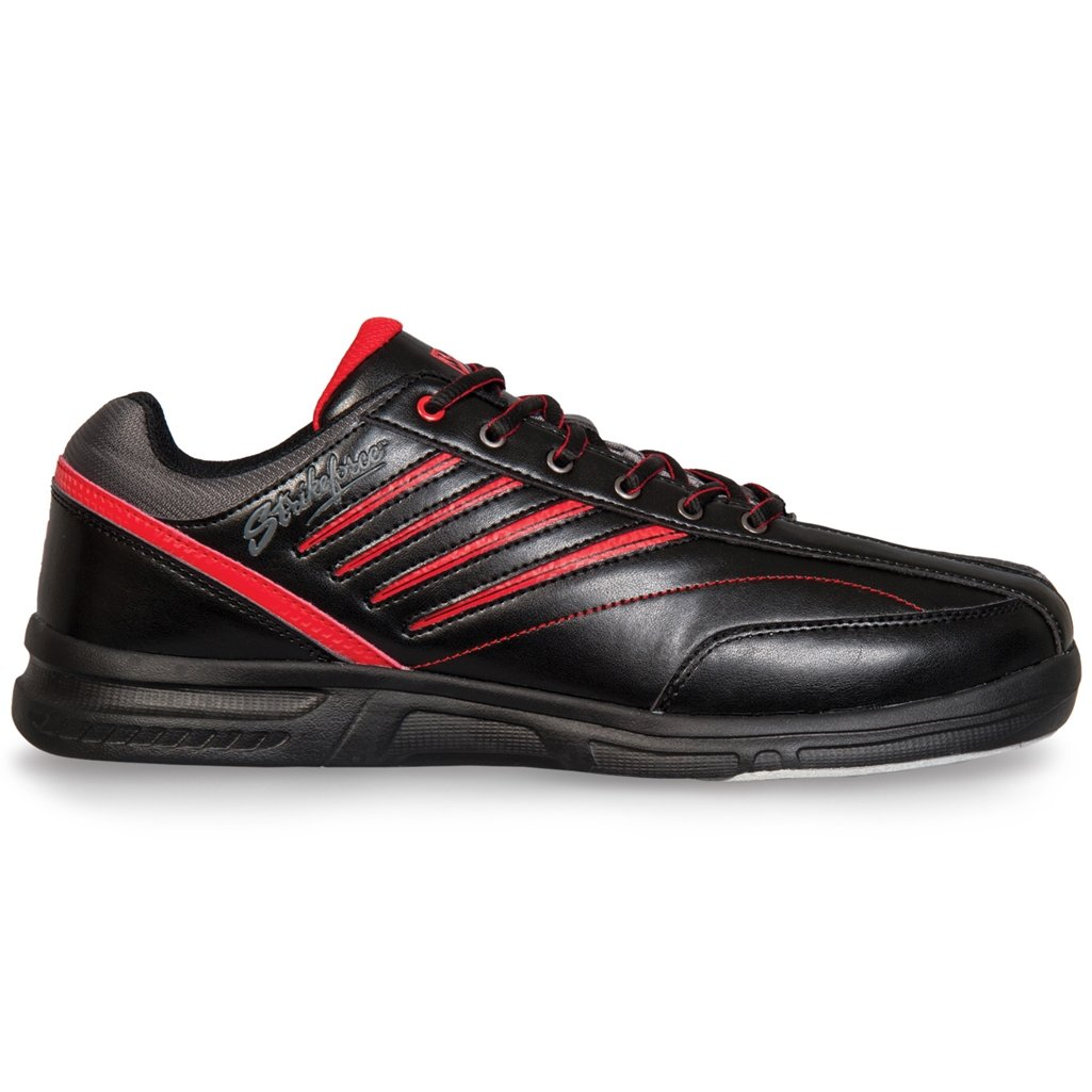 KR Strikeforce M-038-105 Crossfire Lite Bowling Shoes, Black/Red, Size 10.5 Daytona Wholesalers Inc