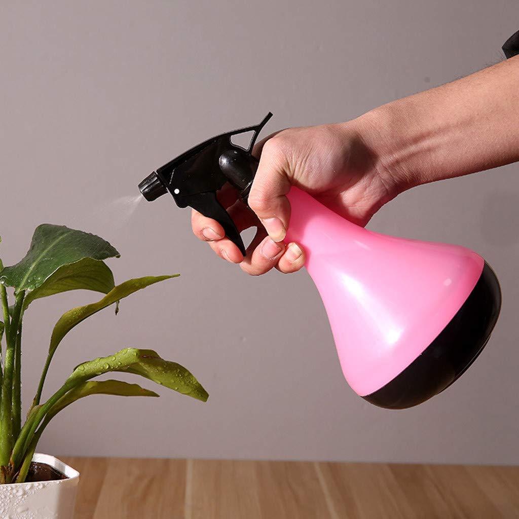 Water Sprinkler, LtrottedJ Empty Spray Bottle Plastic Watering The Flowers Water Spray For Salon Plants (Pink)