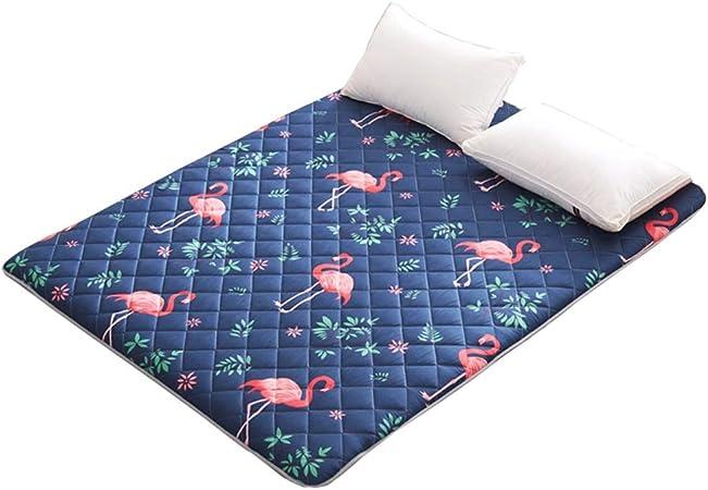 Colchonetas para Uso múltiple Colchonetas para niños [Dormitorio de Estudiantes] Colchoneta Plegable Estera de Ventana de Bahía Colchoneta de Yoga Alfombra de Tela cepillada -4 Tamaños (Flamingo/A c: Amazon.es: Hogar