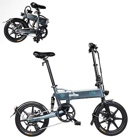 Plegable Bicicleta Eléctrica para Los Adultos, Conmutar E-Bici con ...