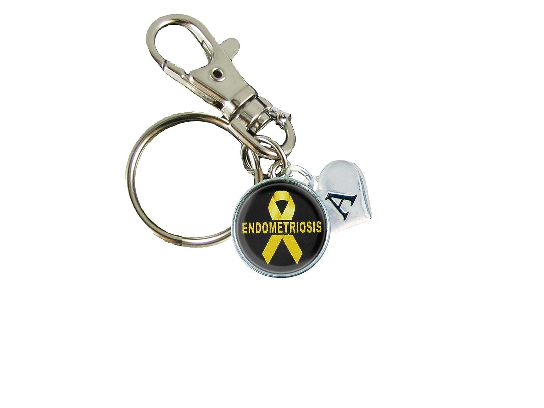 Amazon.com: Clave Cadena Custom conciencia cinta amarilla de ...